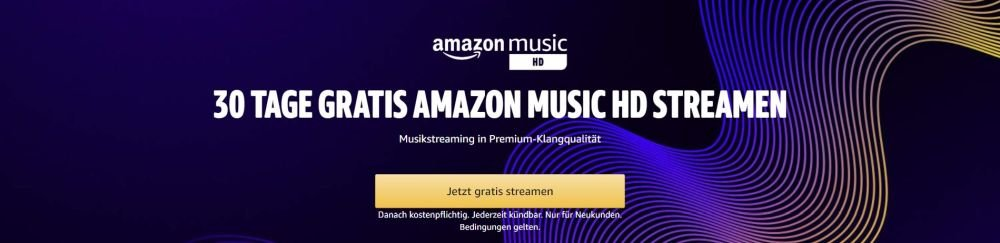 amazon music hd 30 tage gratis