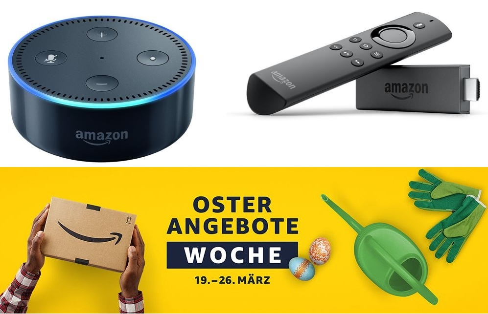 amazon ostern echo dot plus fire tv