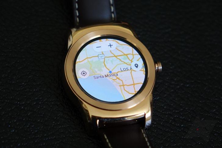 andorid wear maps