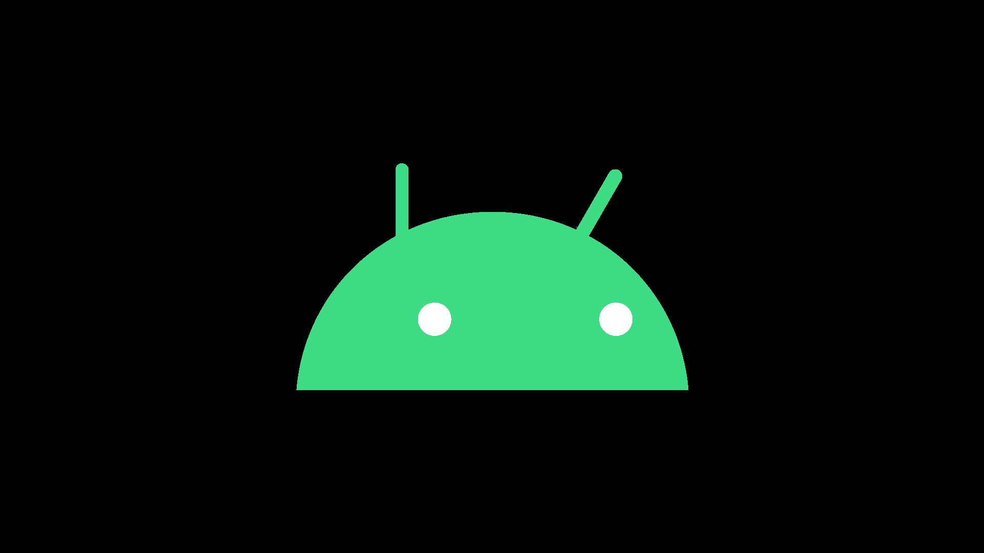 android 10 dark mode logo