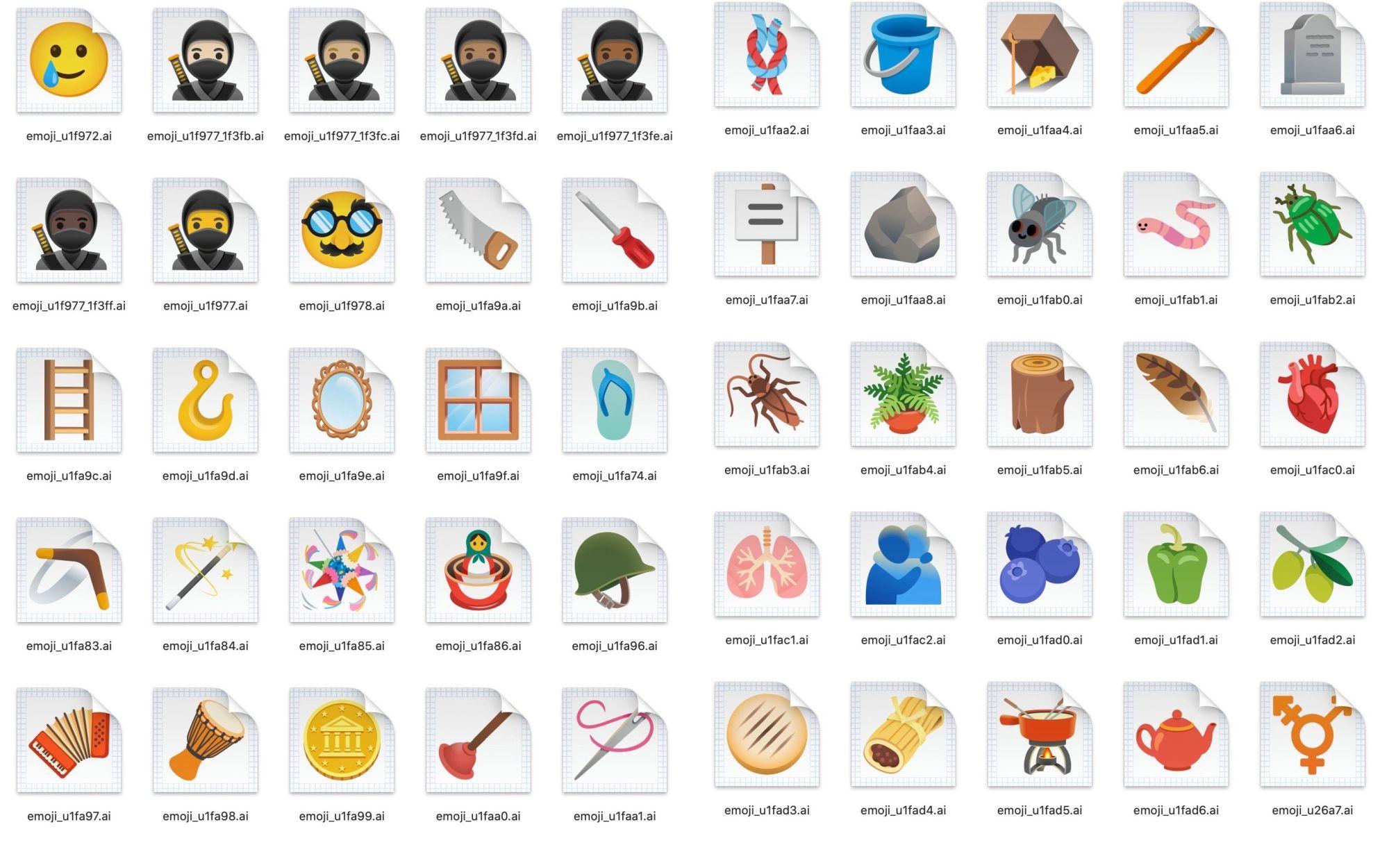 android 11 emojis 1