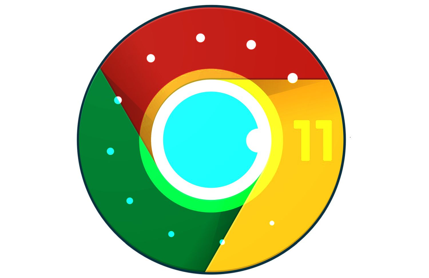 android 11 logo chrome merged
