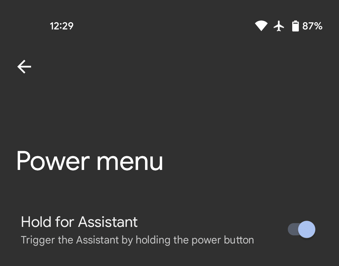 android 12 assistant