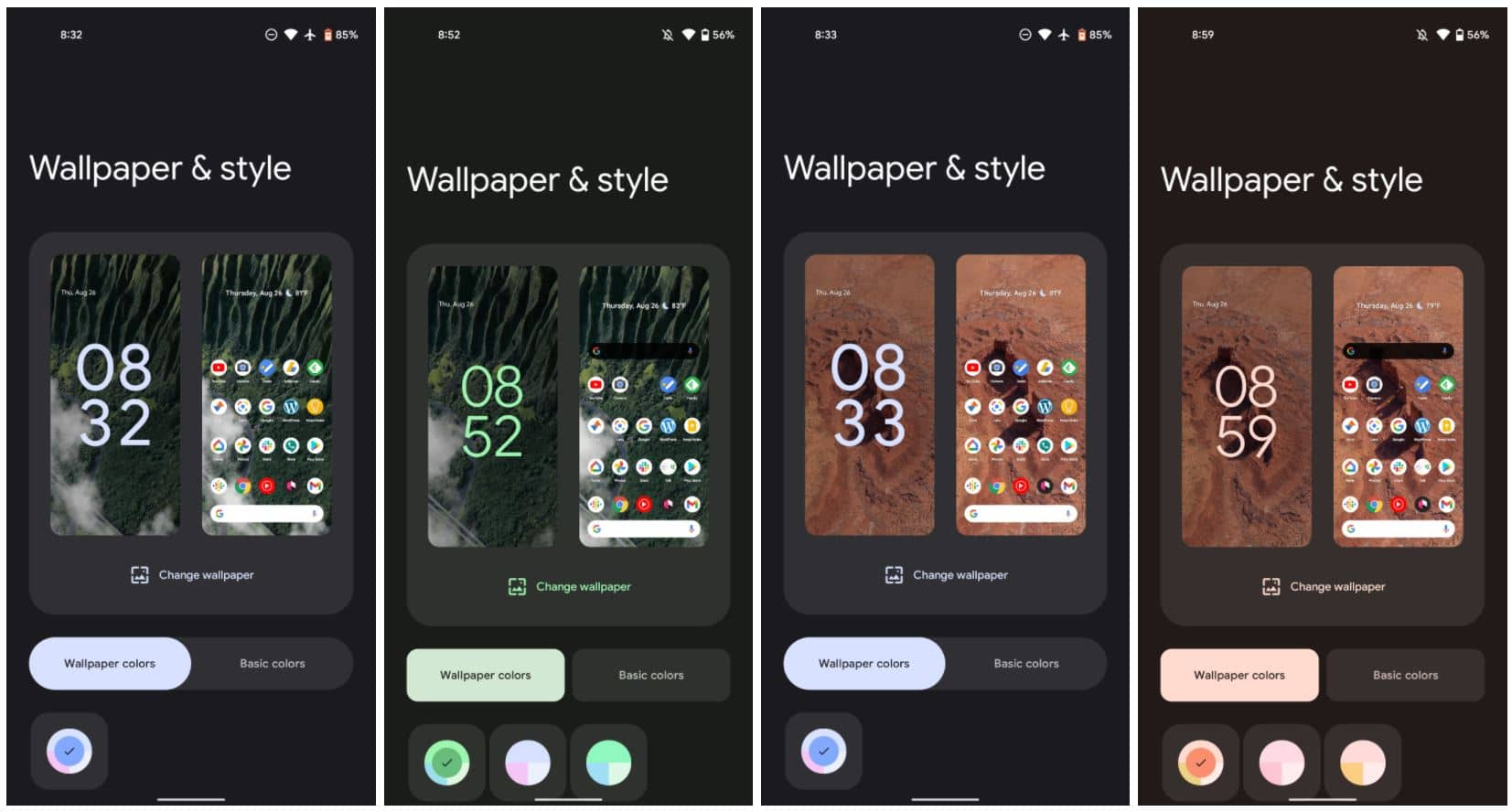 android 12 material you pixel live wallpaper