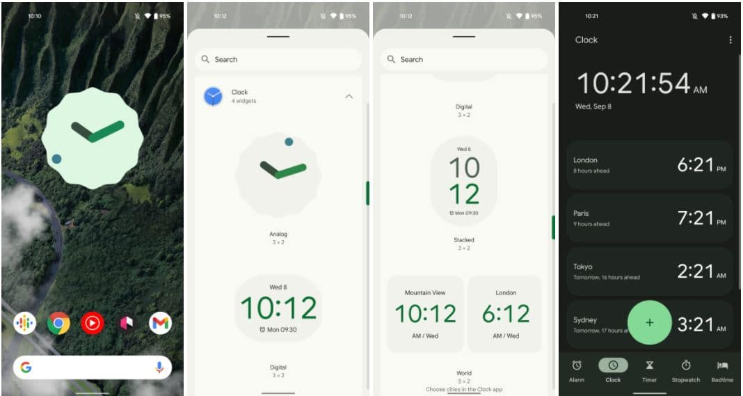 android 12 material you uhr