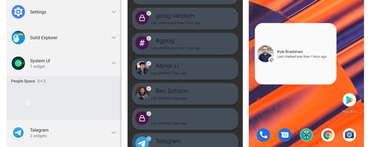 android 12 people space widget