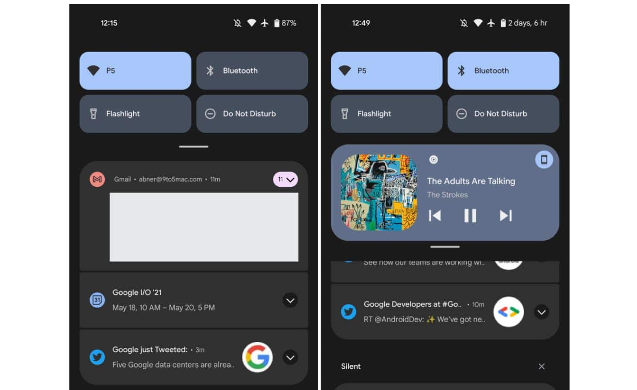 android 12 quick settings 3