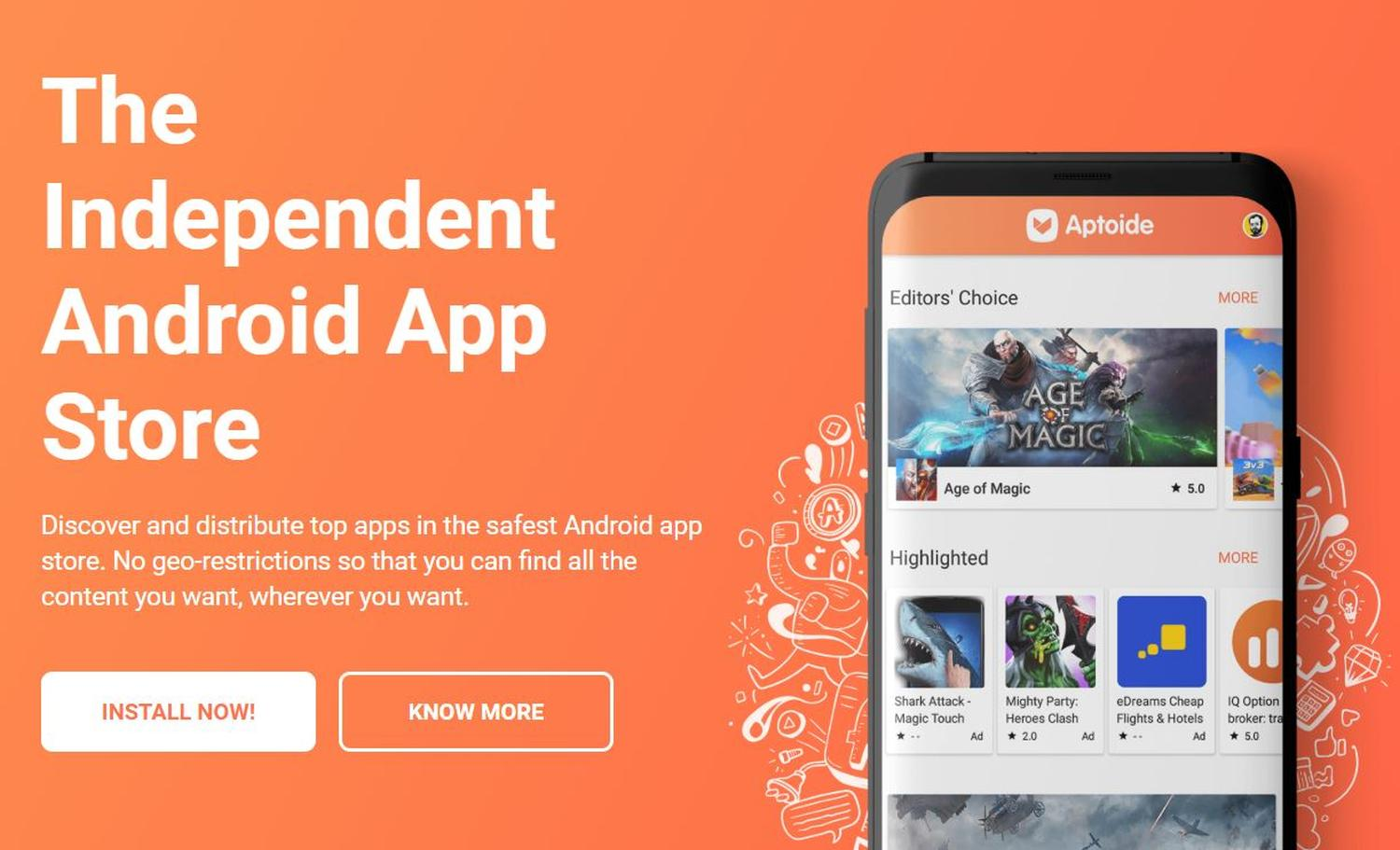 android aptoide store