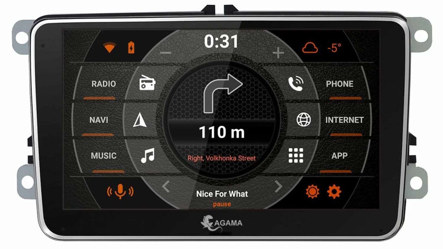 android auto agama launcher 2