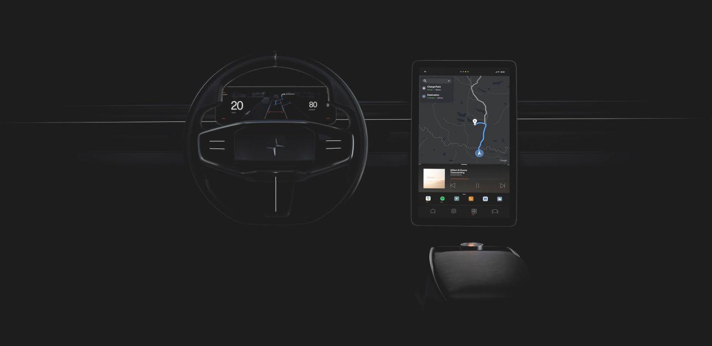 android auto automotive volvo polestar 2