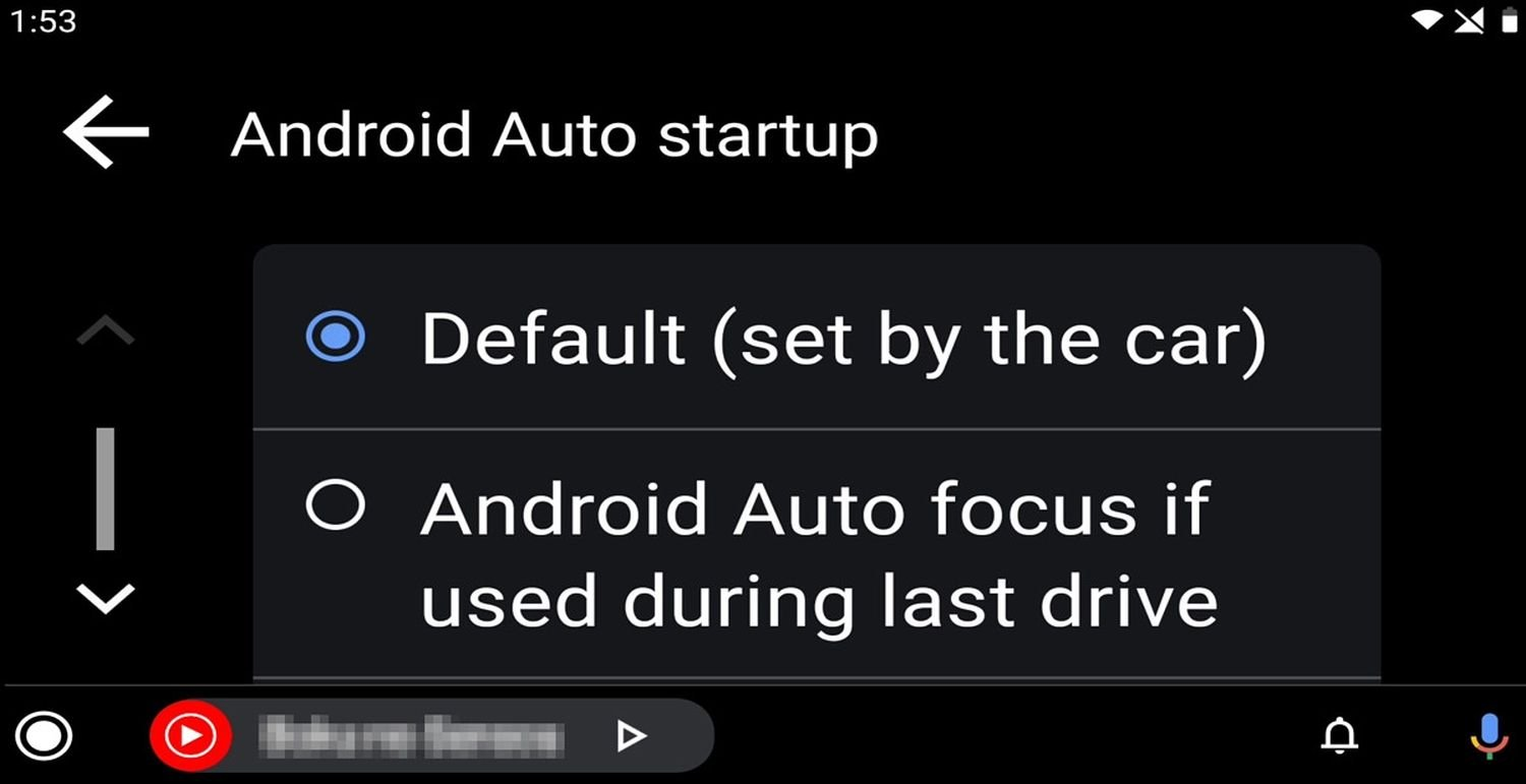 android auto coolwalk design settings