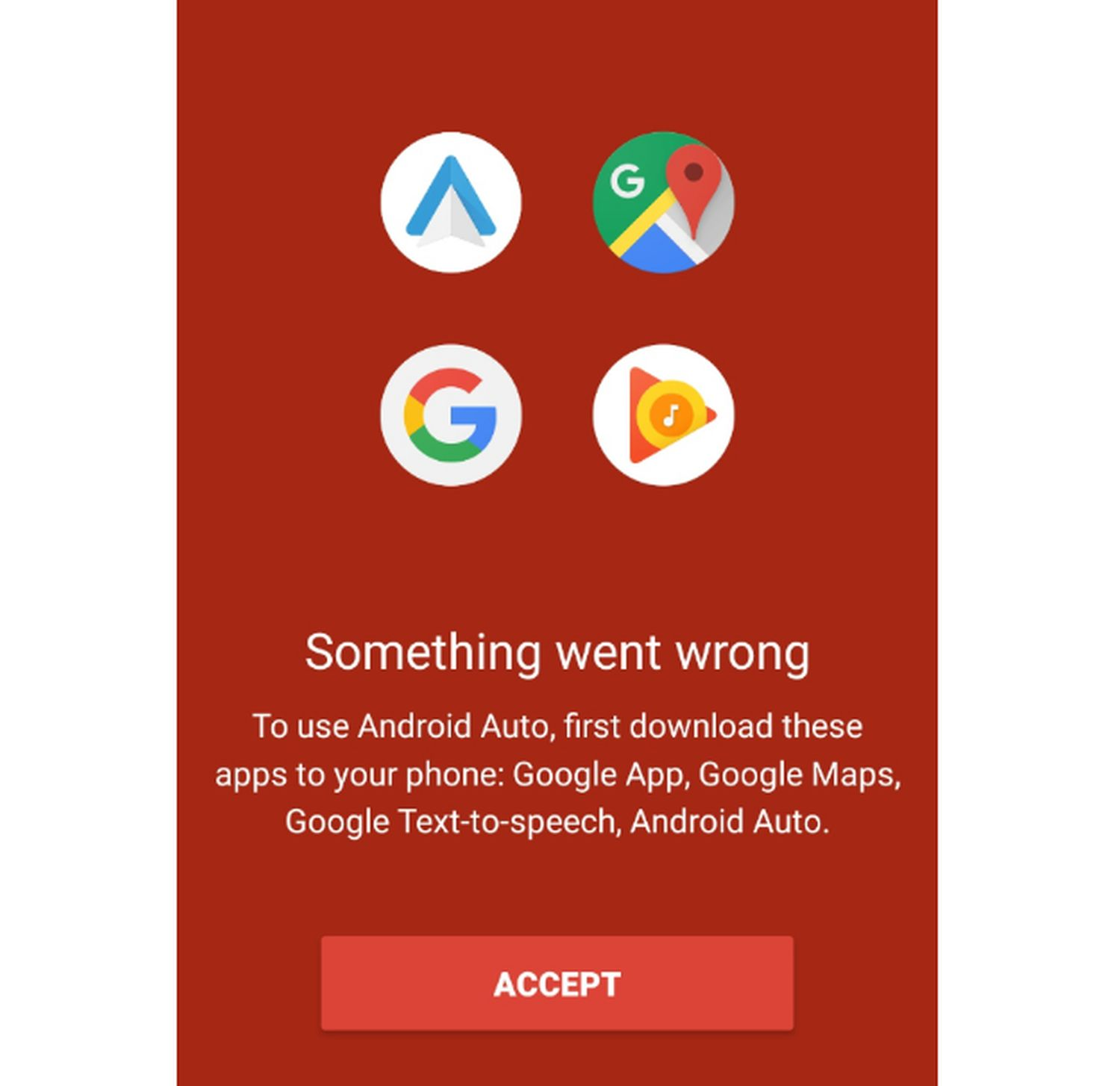 android auto google apps