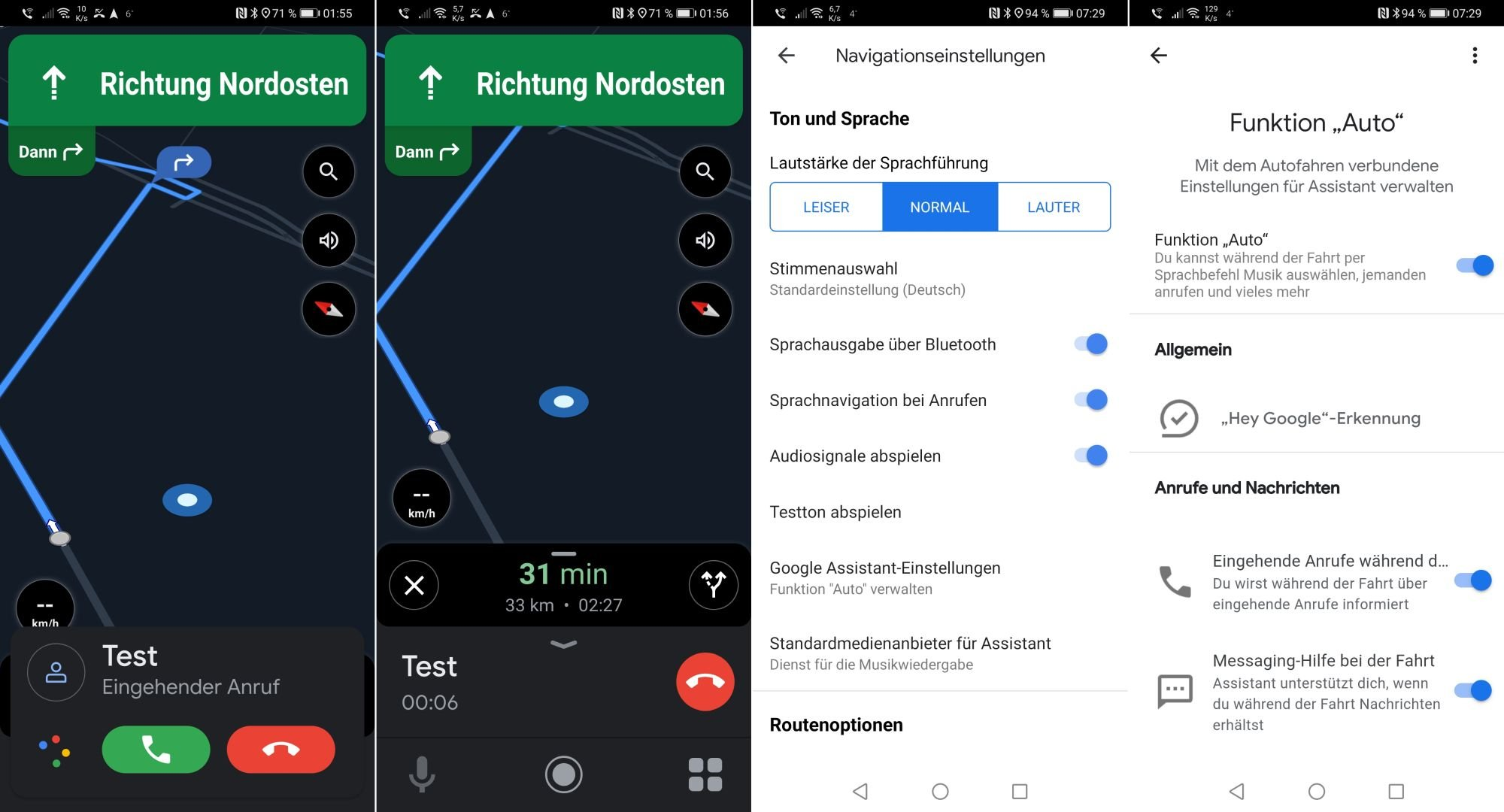 android auto google assistant driving mode