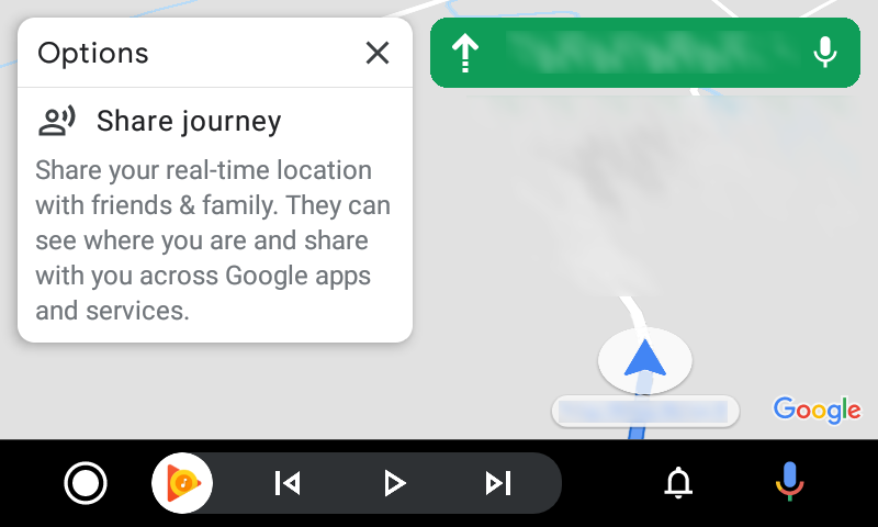 android auto google maps new icons 4