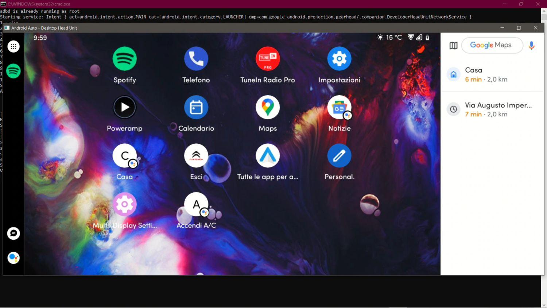 android auto multidisplay 3