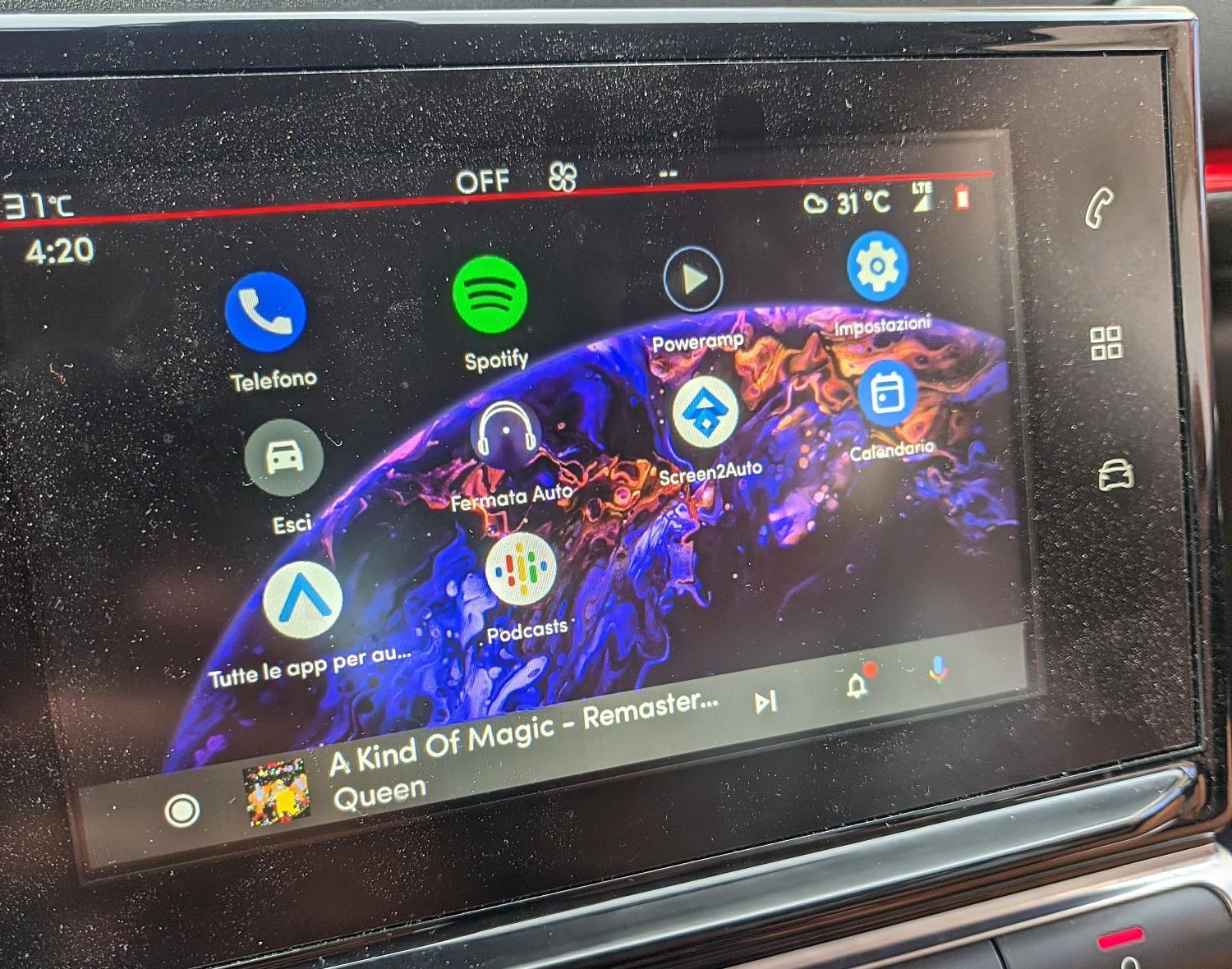 android auto musik