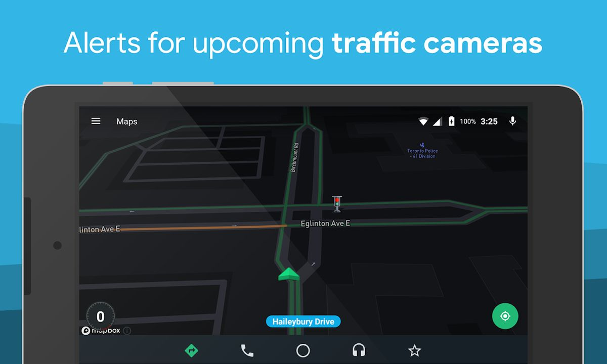 android auto traffic cameras