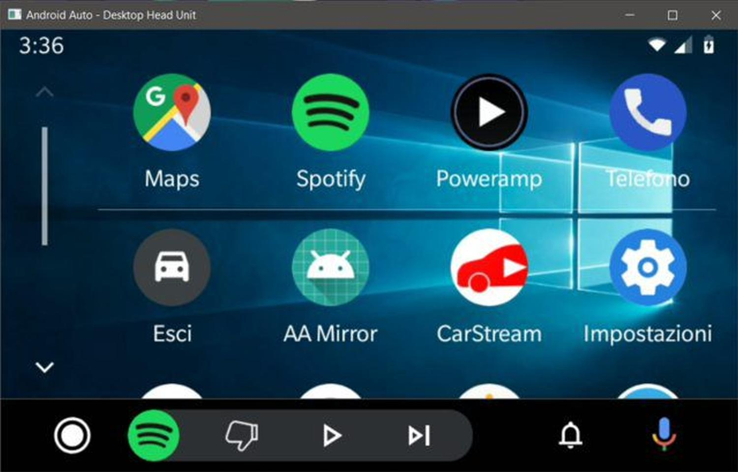 android auto wallpaper windows 10
