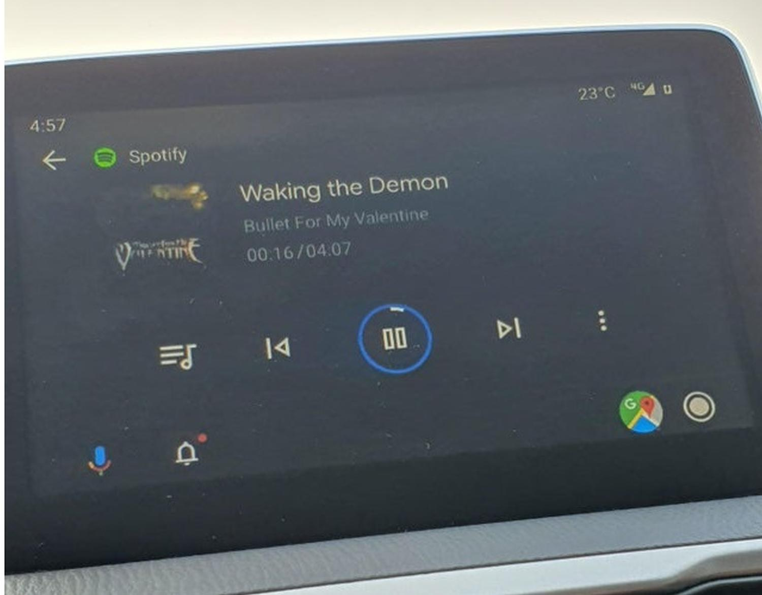 android auto wetter