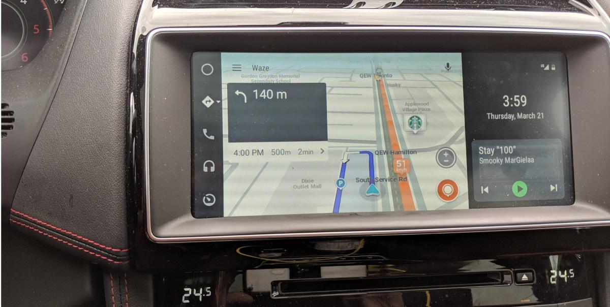 android auto wide new