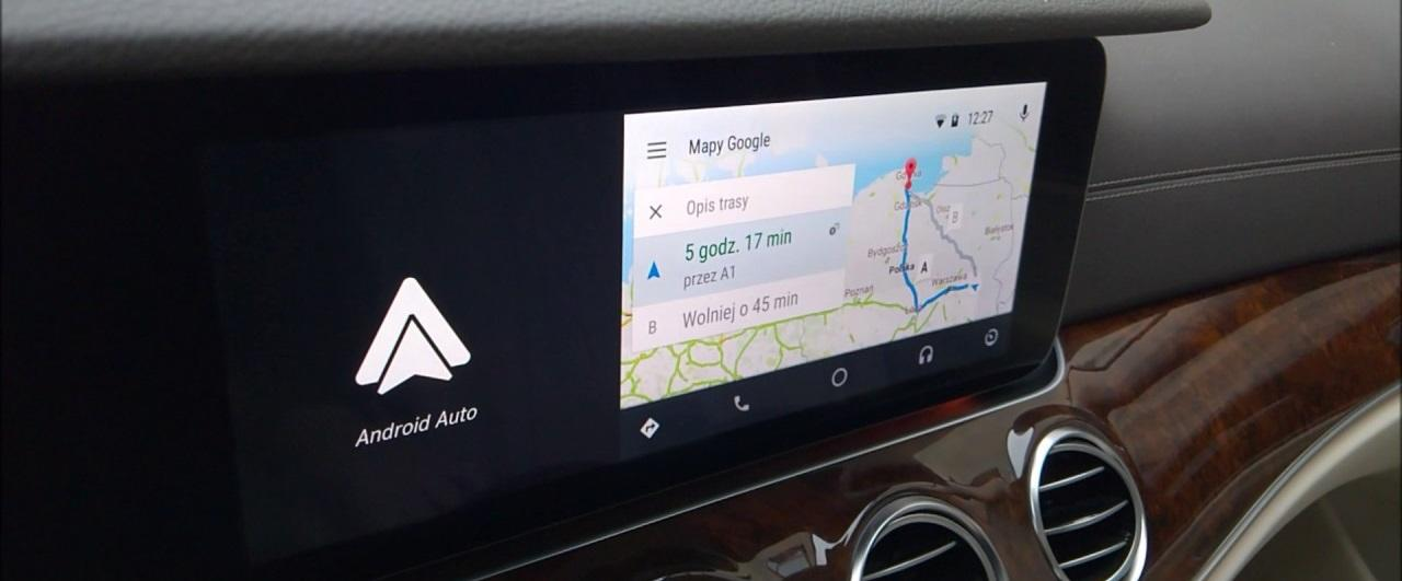 android auto wide old