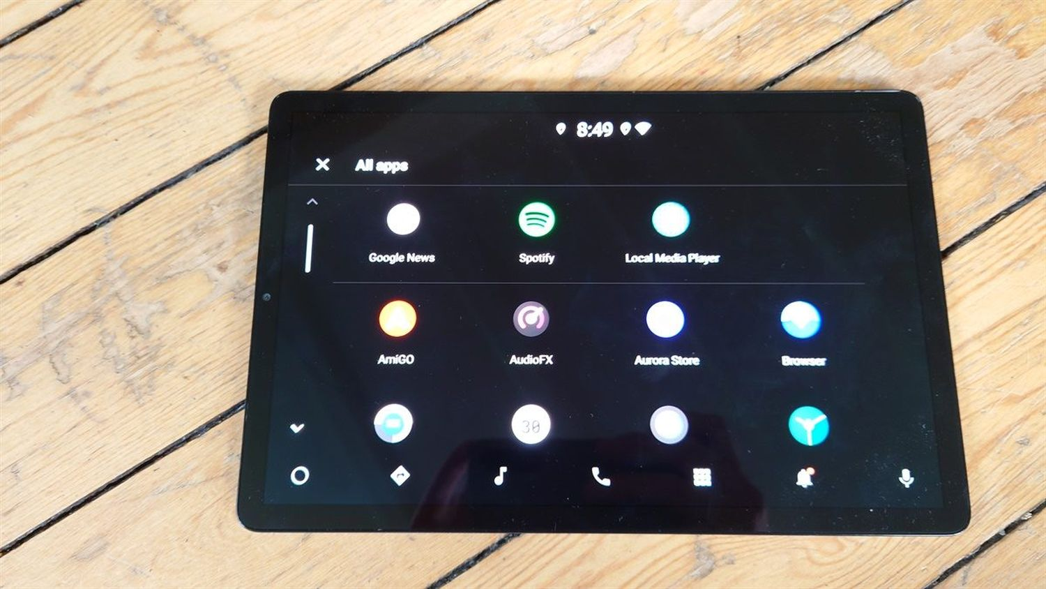 android automotive lineage tablet 2