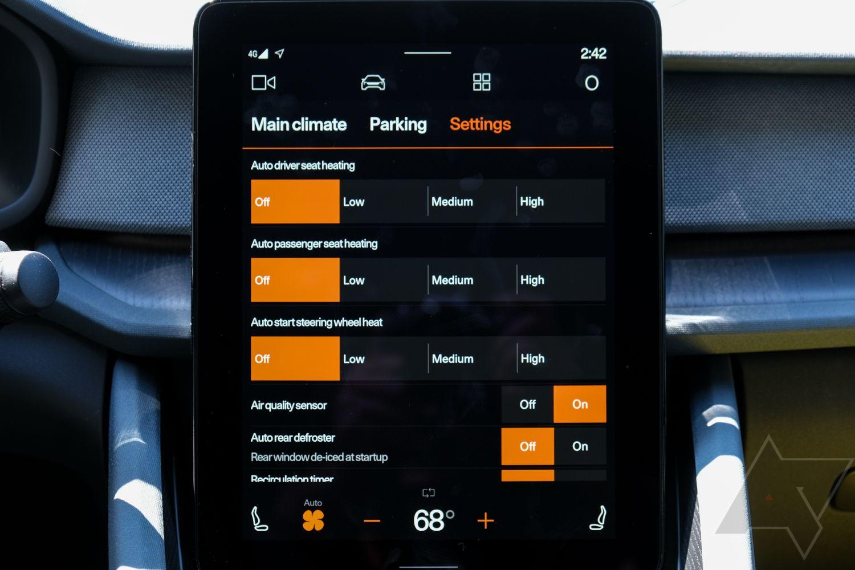 android automotive main display