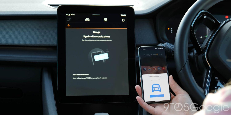 android automotive polestar 2