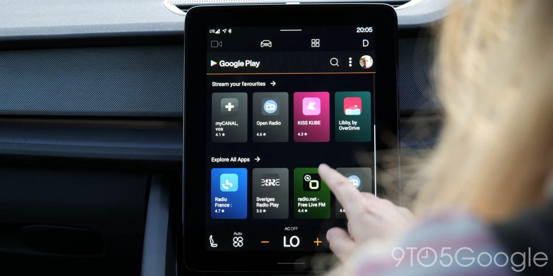 android automotive polestar 4