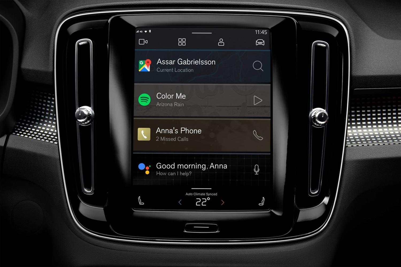 android automotive volvo xc40 3