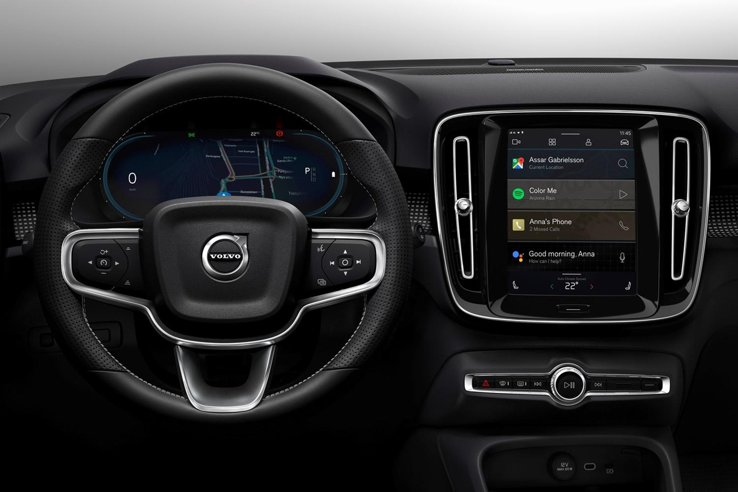 android automotive volvo xc40