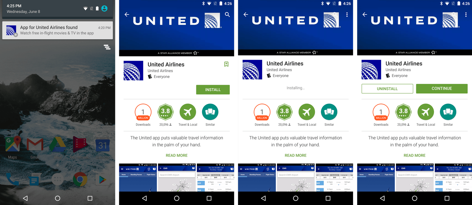 android kann keine apps installieren