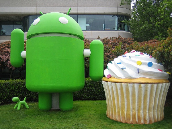 android cupcake figur