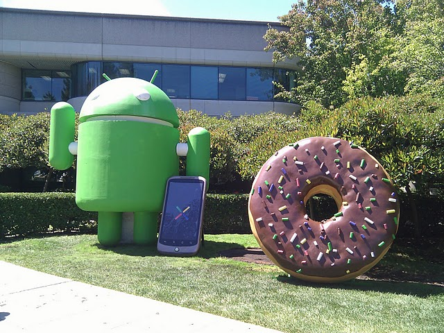 android donut figur