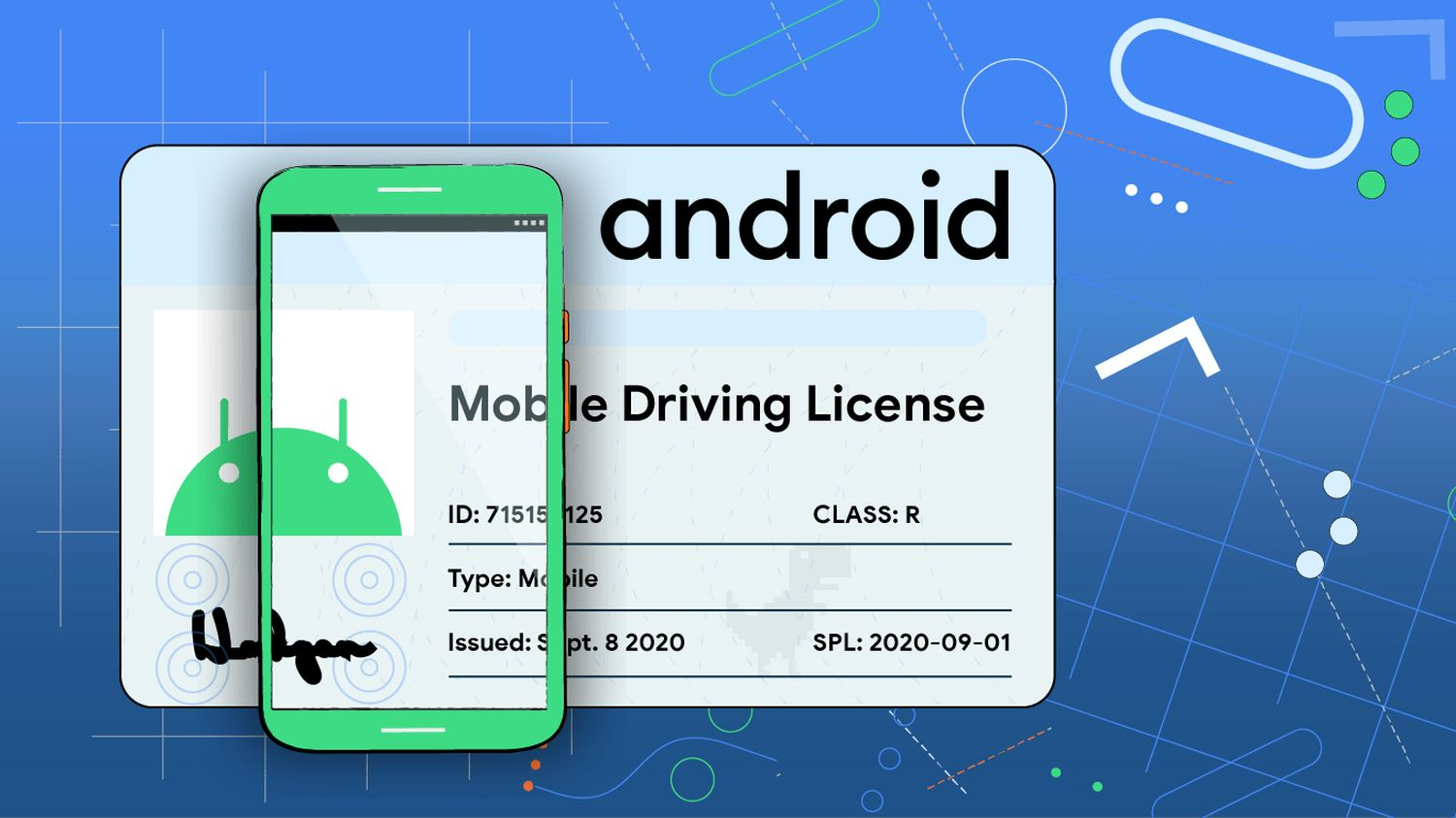 android driving license