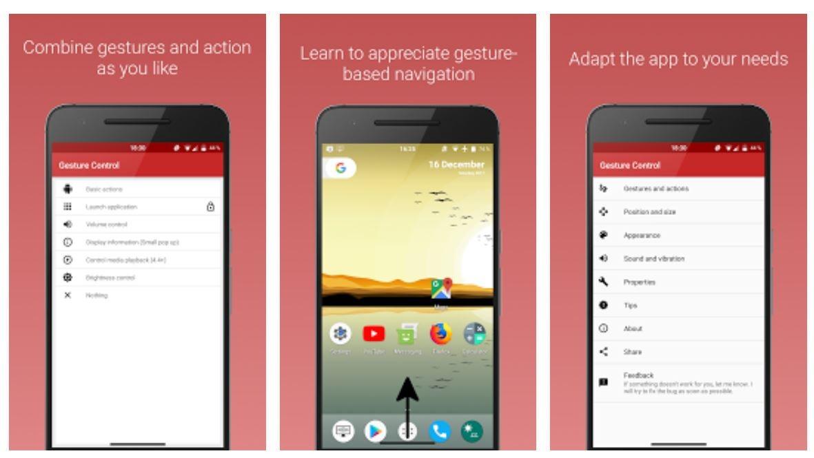 android gesten