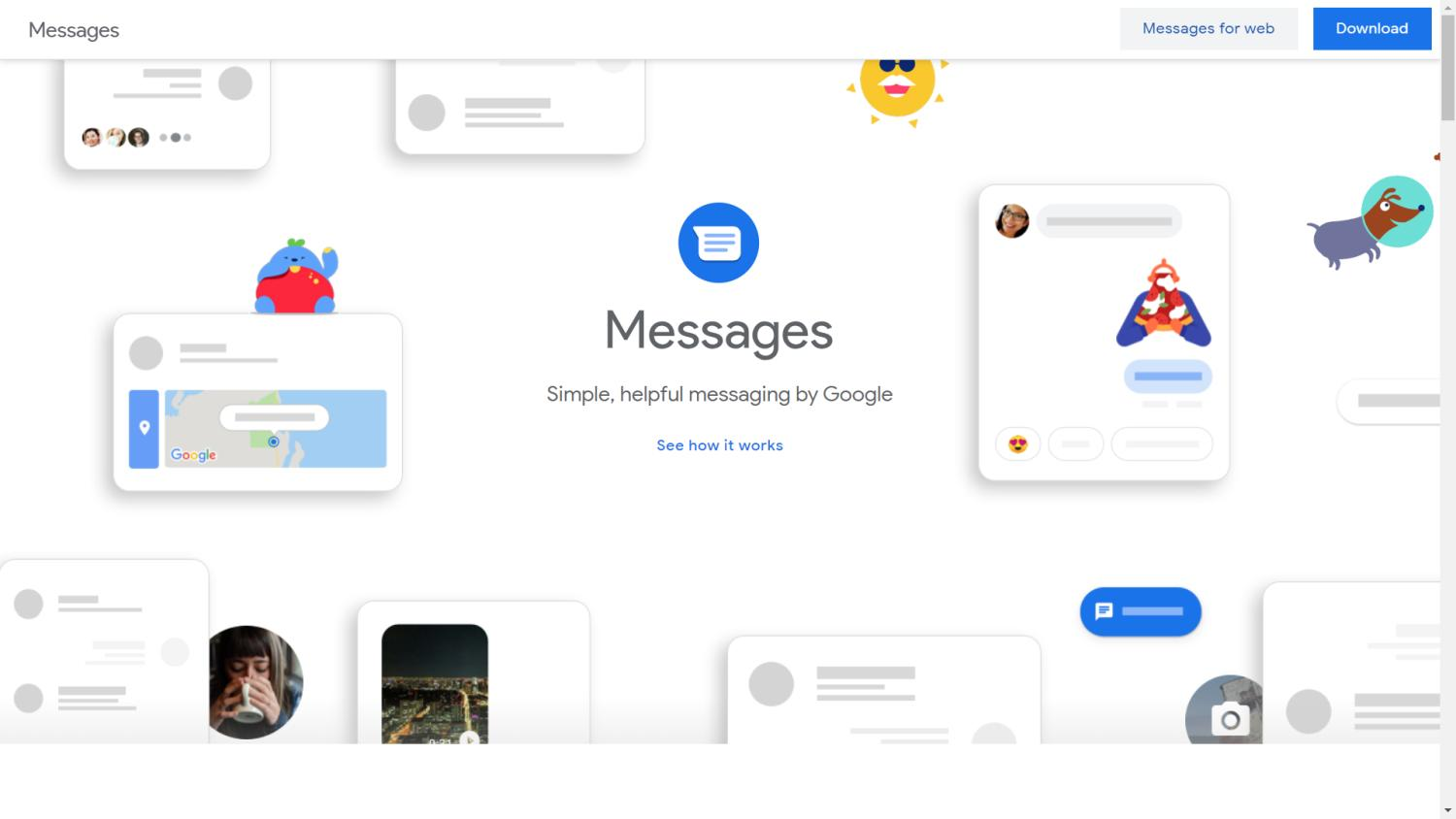 android google messages