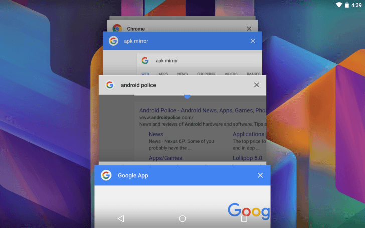 android google search