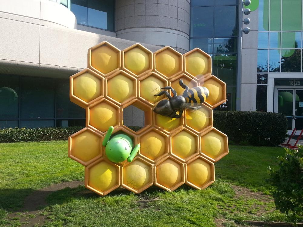 android honeycomb figur