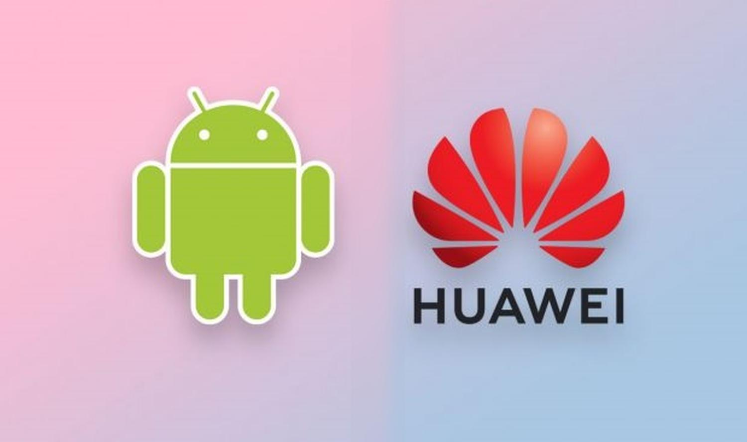 android huawei logo