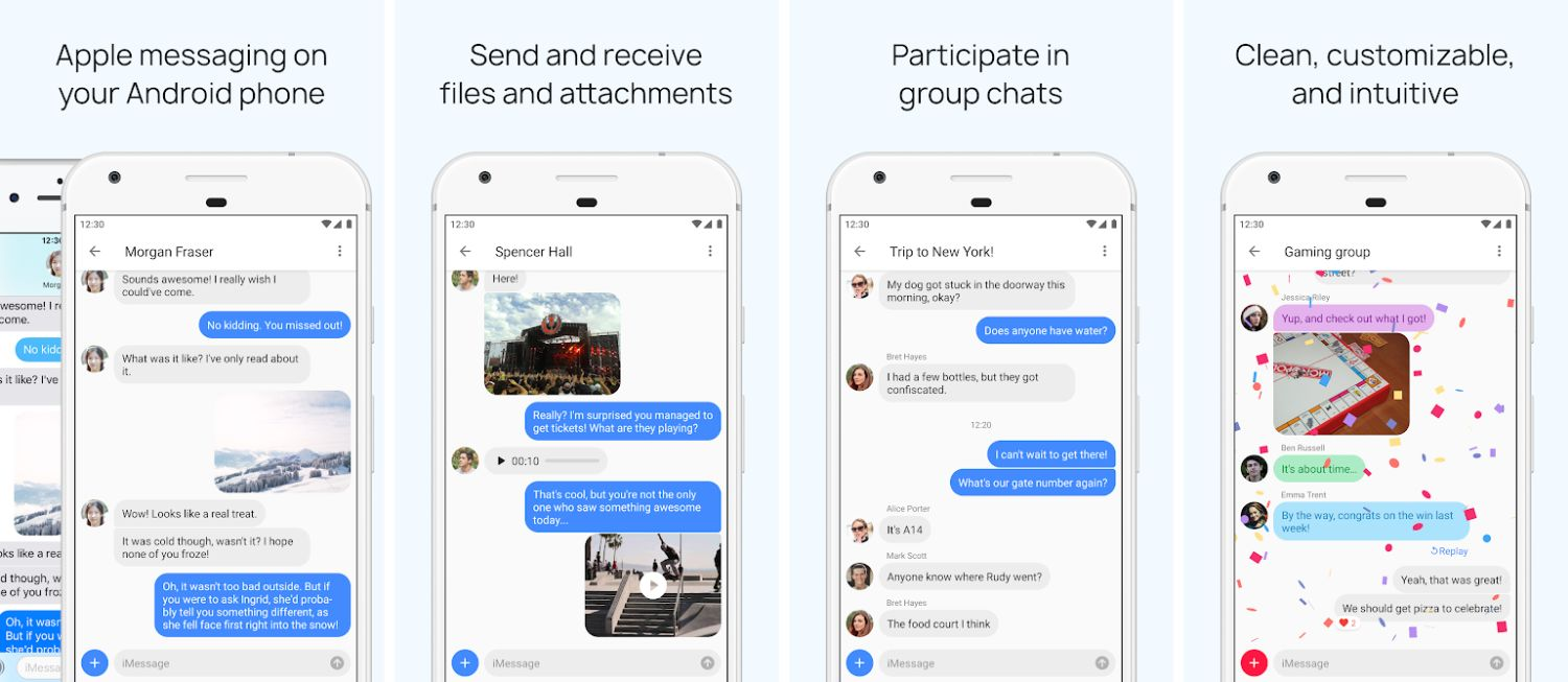 android imessage screenshots