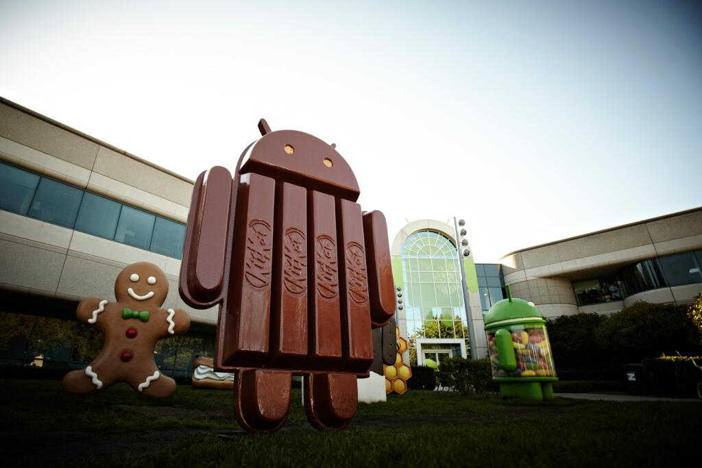 android kitkat figur