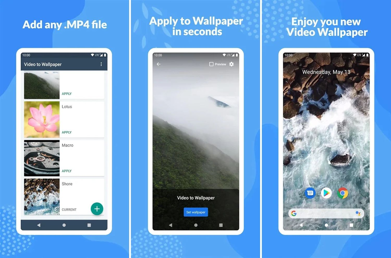 android live wallpaper video