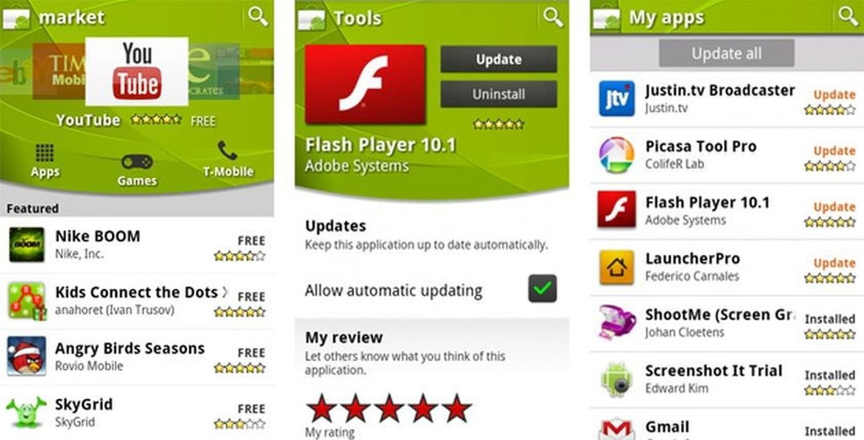 android market screenshot