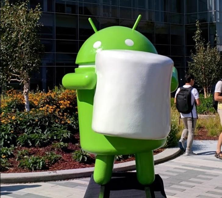 android marshmallow figur