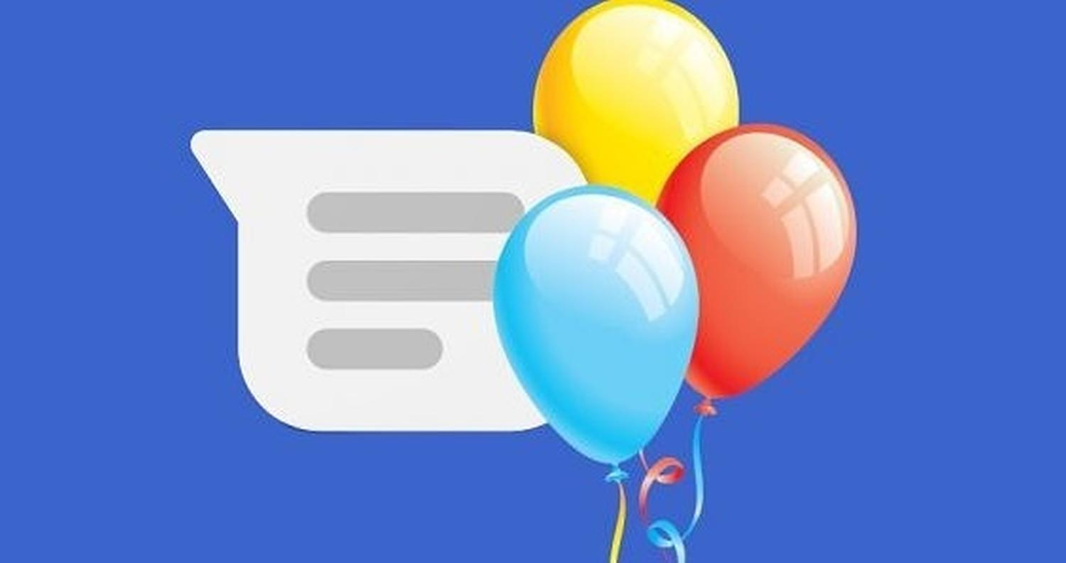 android messages effect