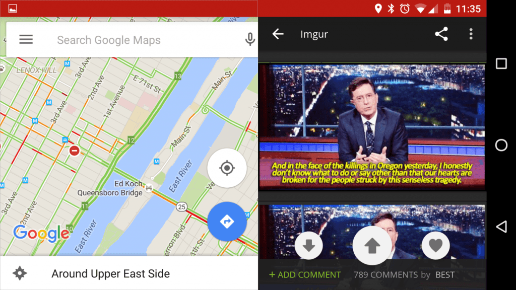 android multi window