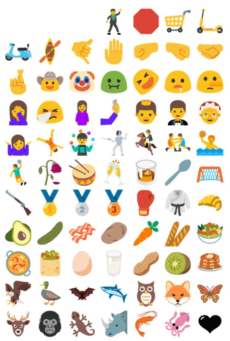 rekord android n kommt mit 953 neu designten emojis