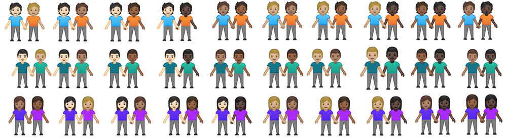 android new emojis