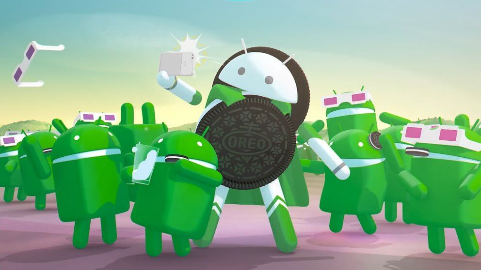 android oreo selfie